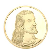 Buy 2017 Hot Jesus Memory Gold Plated Bitcoin Coin Collectible BTC Coin Art Collection Gift Physical Metal Antique Souvenir Coin for $1.05 in AliExpress store