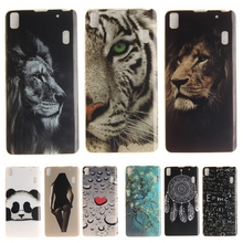 Buy Cartoon Phone Case Coque Lenovo A7000 Soft Silicon Cover Lenovo Lemon K3 Note K50 K50-t5 Panda Tiger Lion TPU Back Cases for $1.48 in AliExpress store