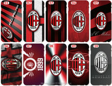 AC Milan Logo Cover For iphone 8 5 5S SE 5C 6 6S 7 Plus For Samsung Galaxy A3 A5 A7 A8 A9 J1 J2 J3 J5 J7 2016 Cell Phone Case(China)