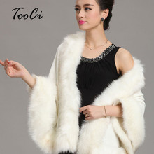 New  Winter  Women Sweater Cardigan  Female Fox Fur Collar Poncho Cape Bridal Wedding  Wool  Shawl Cape 12 Colours