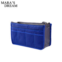 Mara's Dream Clear Compact Portable Make up Women Makeup Organizer Bag Girls Cosmetic Bag Toiletry Travel Kits Storage bag