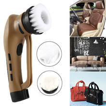 Multifunction Handheld Shoe shine machine electric Automatic Brush shoes Vehicle type Household Leather good Care device