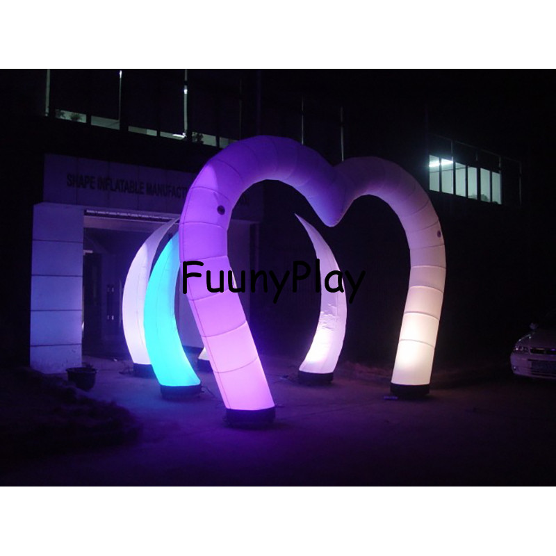 inflatable wedding heart arch