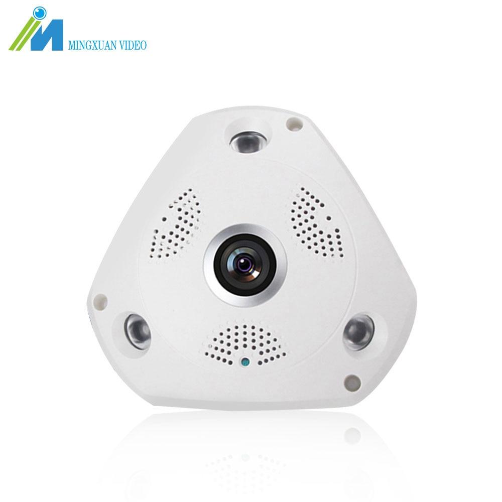 MX 960P WiFi Security Camera IP Camera Home Surveillance CCTV Camera System 360 Panoramic HD 1.3MP Fisheye Lens Night Vision<br>