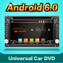 "Android 6.0 6.2"" GPS 2DIN Car DVD Player Capacitive Screen Radio Stereo+CAM+OBD2"