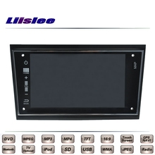 For Opel Astra H Double Monitor Screen Car Multimedia TV DVD GPS Radio Original Style Navigation Liislee Advanced Navi
