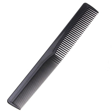 Men Women Salon Black Plastic Cutting Hair Tooth Comb Barber Tool Hairdressing Hair Brush HB88