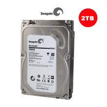 Seagate 3.5'' Inch SATA HDD 2TB 2000G Hard Drive Disk For CCTV Camera DVR NVR Security SYSTEM and PC