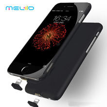 Meliid Ultra Thin Charger Battery Case For iPhone 7 7 Plus 6 6S External Power Pack Rechargeable Case Extended HOT Selling
