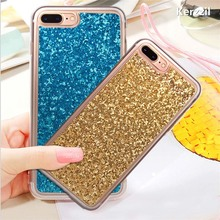 Buy Kerzzil Glitter Bling Case iphone 7 Case iphone7 6 6S Plus Phone Cases Cute Candy Shining Flash powder Back Cover Capa for $1.53 in AliExpress store