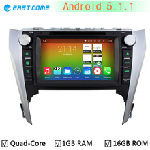 1024*600 Car DVD Player for Toyota Camry 2012 2013 2014 Bluetooth GPS Navigation System Android 5.1.1 Quad Core CPU 16G Flash