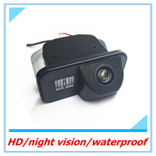 Free shipping for Toyota Corolla/Vios waterproof CCD HD backup Auto Wide Angle reversing camera kit Car rear view camera(China)