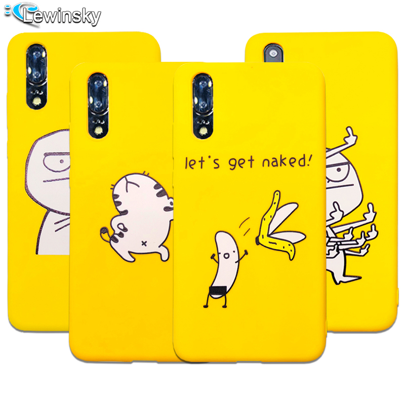 Soft Silicone Cute Cartoon Lazy Cats Phone Case For Huawei P20 lite P20 pro P Smart Nova 3i Case Funny Animal Yellow Back Cover
