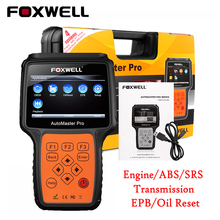 Automotive Scanner Original Foxwell NT614 OBD Car Scanner ABS Airbag and Transmission EPB Oil Reset Diagnostic-tool Free Upgrade(China)
