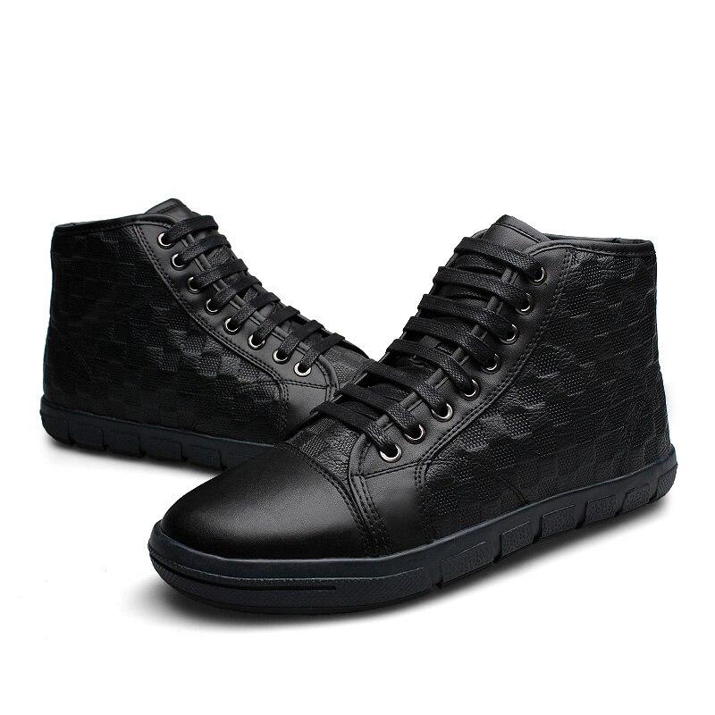 Men Boots Winter Shoes Hot Sales 2016 Ankle Snow Boots Plush Fur Work Cowboy Fashion Genuine Leather Chelsea Leather Men Shoes<br><br>Aliexpress