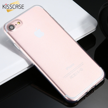 KISSCASE For iPhone 7 Case Soft TPU Silicone Ultra Thin Phone Cases For iPhone 5 5s SE 6 6s Plus 7 7 Plus Case Cover Accessories