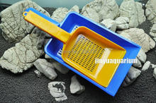 Aquarium gravel scooper sand maintenance tools water plant fish tank clean