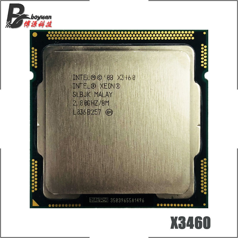 Intel Xeon X3460 2.8 GHz Quad-Core CPU Processor L3=8M 95W LGA 1156