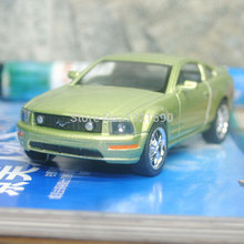 10pcs/pack Wholesale Brand New KT 1/38 Scale USA Ford 2006 Mustang GT Diecast Metal Pull Back Car Model Toy