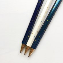 3X Simple Starry Sky Star Press Automatic Mechanical Pencils Writing Drawing School Office Supply Student Kids Stationery