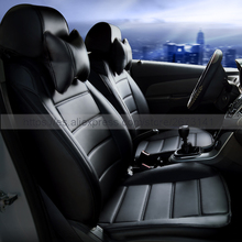 Custom Leather Car Seat Cover front & back Complete set car cushion accessories interior for SUZUKI SX4 Liana Vitara car-styling(China)