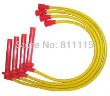 Spark Plug high-voltage ignition wire set for Chevrolet Aveo, ignition cable, Sub-cylinder line, free shipping!!