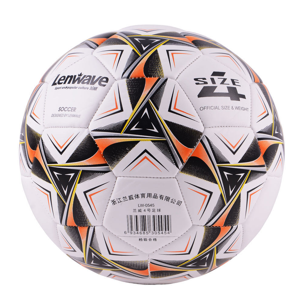 Image Kids Children Soccer Ball Size 4 Sewing machine Football Ball PVC Youth Student Soccer Balls