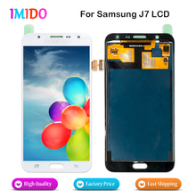 China Supplier LCD For Samsung Galaxy J7 J700F J700M J700H LCD Display Screen Touch Screen Digitizer Assembly AAA+++Best Quality(China)