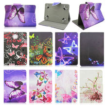 For Irbis TX58 10.1 inch Universal PU Leather Magnetic Cover Case Android 10 inch Tablet PC PAD +Center Film+pen KF492A