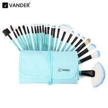 Vander 24PCS Multi-Function Pro Makeup Brushes Powder Concealer Blush Liquid Foundation Make up Brush Kabuki Brush Cosmetics(China)