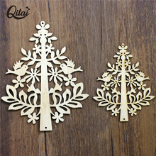 QITAI Tree Wood Crafts Best Sale Fashion Furnishing Articles Room Gifts & Crafts Home Decor Wf110