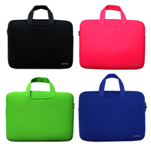 "Laptop Bag 13 13.3 14 15 15.6"" inch Portable Soft Sleeve Handlebag Laptop Bags Case for women MacBook Pro Air Notebook gift ipad"