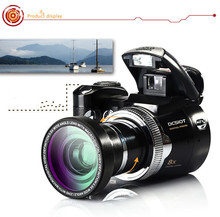 POLO SHARPSHOTS D510T 5.0MP CMOS 2.5 inch TFT LCD Screen Digital Camera 21X Optical Zoom Digital Cameras with LED Headlamp