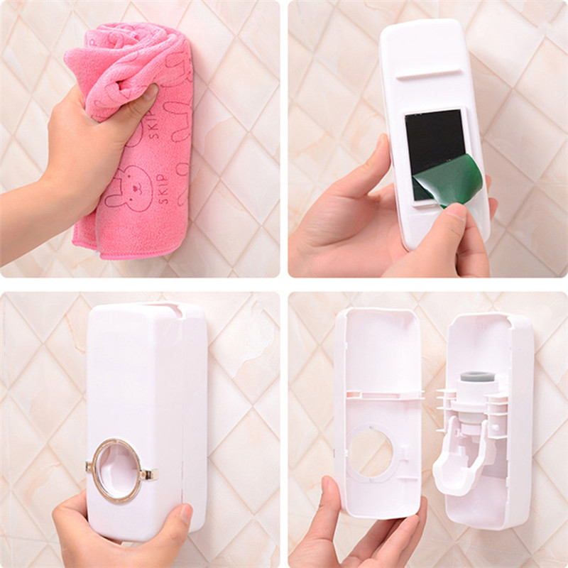 1-set-Tooth-Brush-Holder-Automatic-Toothpaste-Dispenser-5-Toothbrush-Holder-Toothbrush-Wall-Mount-Stand-Bathroom