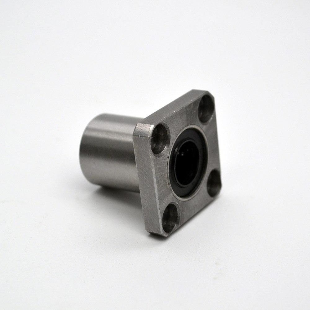 3d printer parts 1pc LMK40UU square flange ball bearing bush for 40mm linear guide rail rod axis cnc diy<br>
