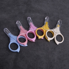 Convenient Baby Stainless Steel Safety Nail Clippers Scissors Cutter Color Random delivery(China)
