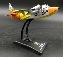 rare Value LEO 1: 250 Italian Air Force HU-16A seaplane Alloy aircraft model Collection model Holiday gifts