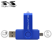 Suntrsi Smart Phone USB Flash Drive 4GB 8GB 16GB micro usb 2.0 Pen Drive 32GB 64GB OTG USB Flash High Speed Pendrive Free Ship(China)