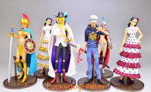 One Piece Action Figure Toys 130MM Zoro Nami Luffy Robin figure Garage Kits Dolls Brinquedos Anime(China)