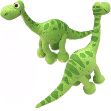 1pcs 2017 Pixar Movie The Good Dinosaur Green Arlo Dinosaur Stuffed Animals Plush Soft Toys for kids gift(China)