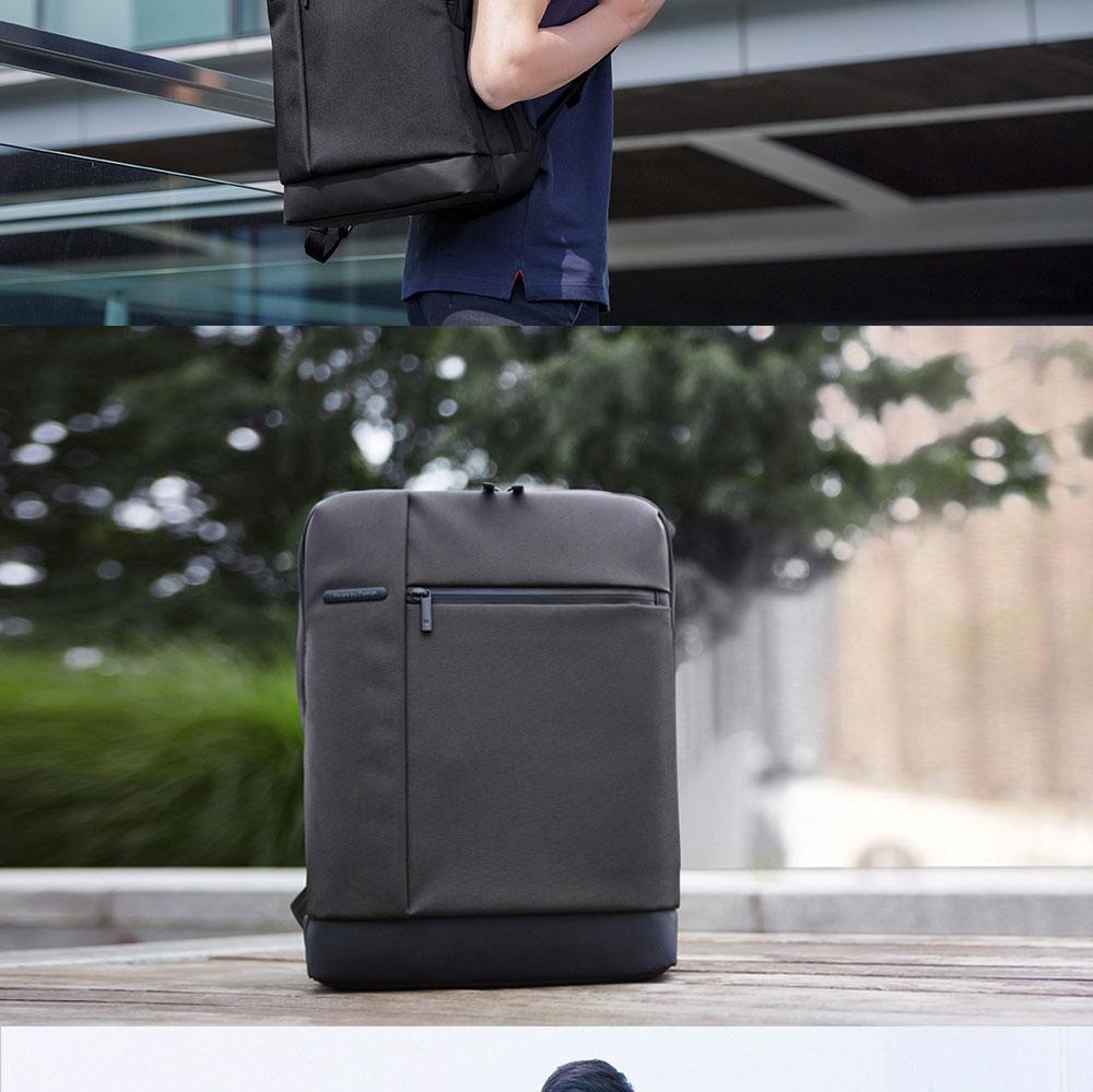 Original Xiaomi Backpack Classic Business Backpacks 17L Capacity Students  Laptop  Men Women Bag  For 15-inch Laptop OK (2)