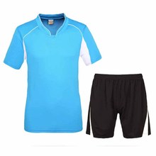 Men Soccer Jerseys Brand Quality Polyester Basic Style Soccer Training Sets Breathable Big Size Football Kits