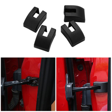 4PCS Auto Door Check Arm Protection Cover Fit For BMW X1 X3 X5 X6 Z4 1 3 4 5 6 7 series