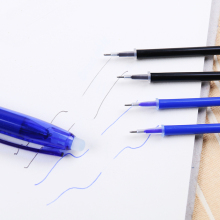 0.5mm Magic Erasable Needle Head Gel Ink Pen Refill Student Office Supply Stationery 20PCS/lot