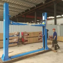 Hot Sale Two Post Car Lift Lifting Repair Platform With Double Toothed Gear Construction