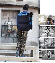 SY15-BLUE Professional Waterproof Outdoor Bag Backpack DSLR SLR Camera Bag Case Nikon Canon Sony Pentax Fuji