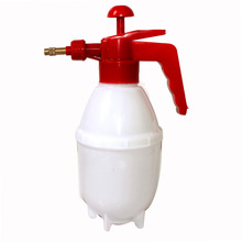 2016 Portable Red Handle White Body Chemical Plastic Water Spray Bottle Plant Water Pressurized Sprayer