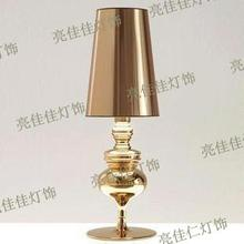 NEW TABLE LAMP The Spanish defender golden lamp living room bedroom lamp hotel project TABLE LIGHT FG679(China)