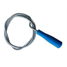 "DSHA New Hot Amico blue Plastic Grip Snake Spring Pipe Rod Sink Drain Cleaner Unblocker 63""(China)"