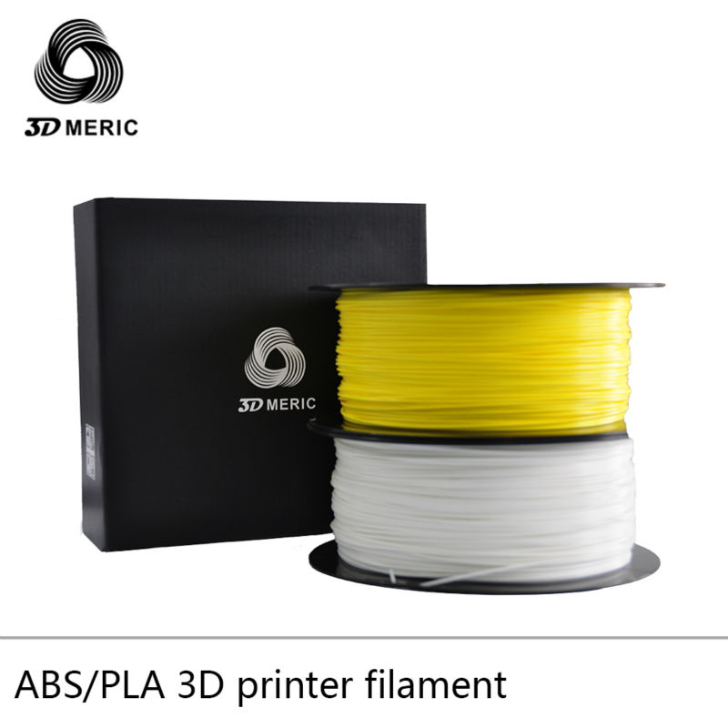 high quality White ABS PLA  filament for 3d printing comes in two industry standard sizes 1.75mm and 3mm<br>